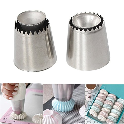 Symphony Tüllen, Edelstahl Ring Cookies Form Spritzbeutel Düsen Set Kuchen Dekoration DIY Werkzeug