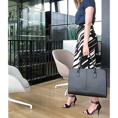 Su.B 13.3 inch Laptop Bag Handbag Messenger Bag for Women   Italian Leather   Professional Briefcase, Designer Versatile Shoulder Tote - laptop-briefcases, laptop