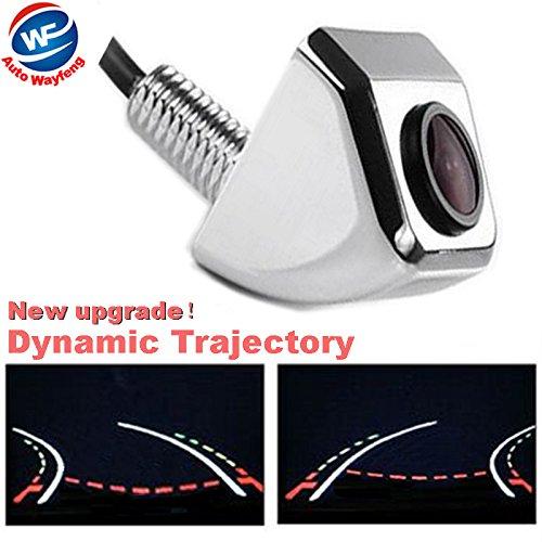 Auto Wayfeng WF® verdrahtete hintere Heckklappe Dynamische Trajektorie-Rückspiegel-Auto-Kamera Bewegliche Richtlinien, Chrom-Farbe Bmw Tv Modul