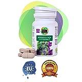 Moringa y vitamina C para regular el colesterol – Moringa + Acai + Vitamina C como antioxidante natural y para ayudar a adelgazar – 30 comprimidos