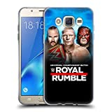 Head Case Designs Offizielle WWE Braun, Brock & Kane 2018 Royal Rumble Soft Gel Hülle für Samsung Galaxy J7 (2016)