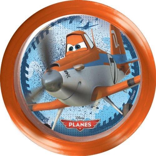 Disney Jungen Plane Fahrradhupe für Kinderfahrradlenker, Orange, 35648