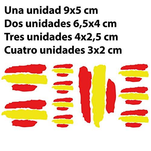 Custom Vinyl Pegatinas Banderas DE ESPAÑA