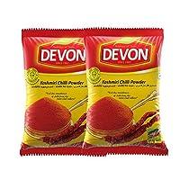 Devon Foods Kashmiri Chilli Powder Masala 250 Grams (Pack of 2)