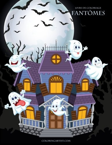 Livre de coloriage Fantômes 1