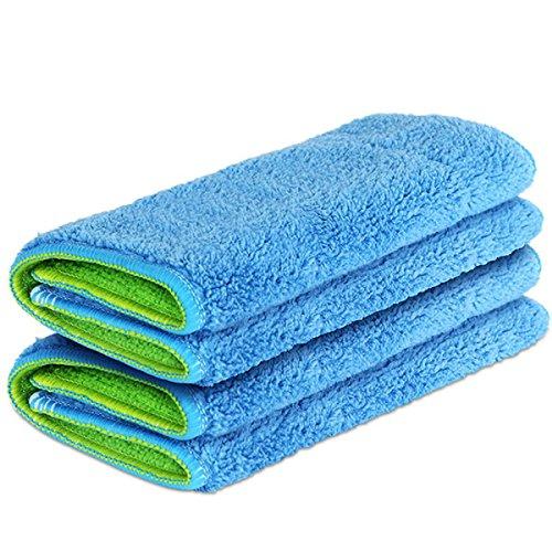GAOJIAN Flat Drag Verteilung Verdickung Mop Tuch Waschbar Wiederverwendbare Ersatz Microfaser Mopping Tuch