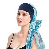EINSKEY Turbante Chemioterapia Donna Estivo Bandana Hijab per Chemio, Cancro, Sonno, Perdita dei capelli, Musulmano