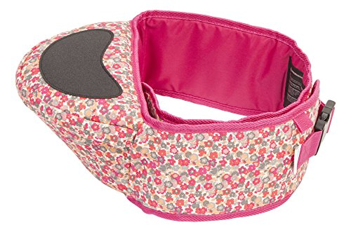 Hippychick Hipseat Baby Carrier - The Easy, No-fuss Baby Carrier That Takes Care Of Your Back - Black
