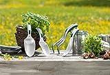 Gartenkelle Aluminium-Kelle Pflanzenkelle Blumenschippe DQS-FFU geprüft NEU
