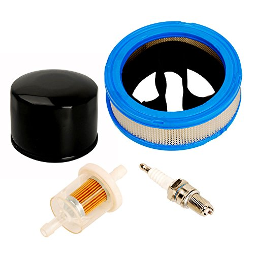 OuyFilters 392642 394018 271271 Air Filter 493629 5065 Fuel Filter 492932 492932S Oil Filter for Briggs & Stratton Vanguard V-Twin 12.5-21hp