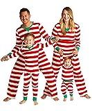 MAXMODA Weihnachten Familie Nachtwäsche Schlafanzug Pyjama Set