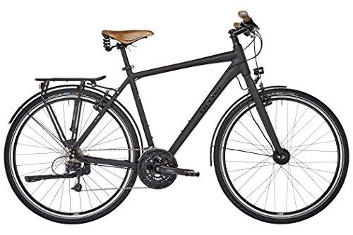 Ortler Meran Herren schwarz matt 2017 Trekkingrad