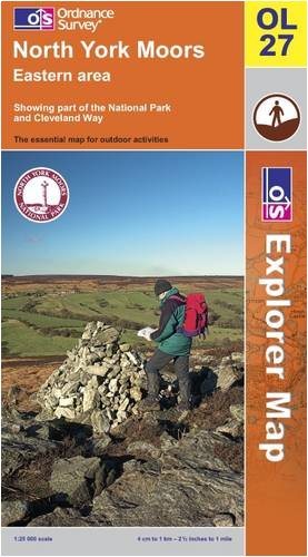 North York Moors: Eastern Area (OS Explorer Map)