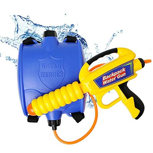 Water Blaster Rucksack mit Düse und Tank Set Wasserpistole Spielzeug für Kinder Sommer Outdoor Schwimmen Strand Spaß