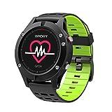 GPS Uhr HR Sport GPS Smartwatch Outdoor Sport Armband Laufuhr Herzfrequenz Schlaf Monitor, Fitness Activity Tracker mit Multi Sportsmodi für iOS Android