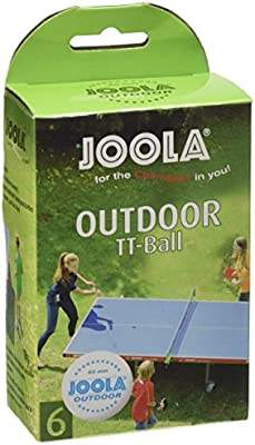 JOOLA TT-Ball para exteriores, blanco, 40 mm, 42181