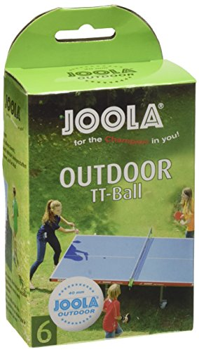 JOOLA TT-Ball Outdoor, Weiß, 40 mm, 42181