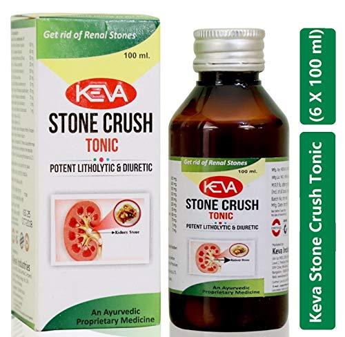 Keva-Industries Herbal, Ayurvedic and Safe Stone Crush Tonic (6 x 100 ml) - Pack of 6