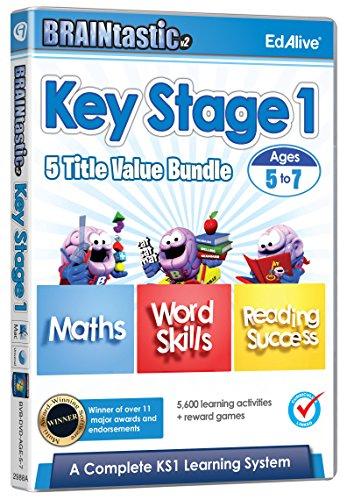 BRAINtastic Key Stage 1 Value Bundle  (PC/Mac) Test