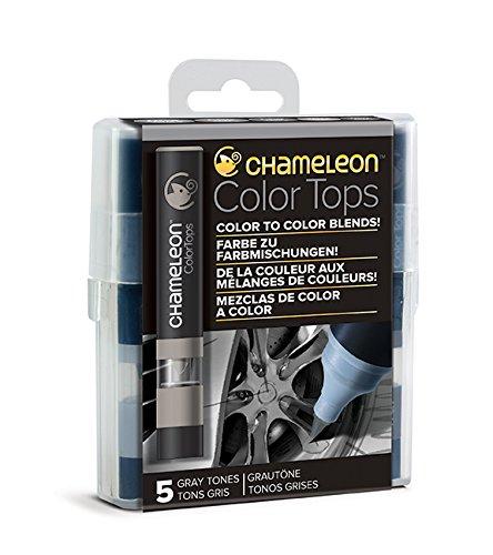 Chameleon Art Products - 5 Color Tops; Puntas mezcla