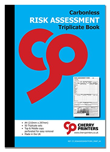 Cherry kohlenstofffreien NCR Risikobewertung Form Triplicate Buch A450Sets