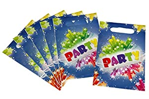 DYNASTRIB Party 9003299 - Bolsas para caramelos, multicolor, 23 x 15 cm