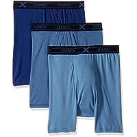 Hanes Underwear Set for Men - Blue - XL UXBBA3