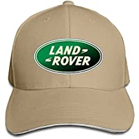huseki Land Rover Logo Adjustable Snapback Peaked Cap Béisbol Hats Natural