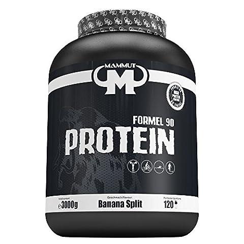 Mammut Formel 90 Protein, Banana Split, 3000 g Dose
