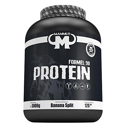 Mammut Formel 90 Protein, Banana Split, 3000 g Dose -