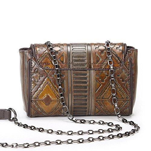 ALBOC Damen Elegante Umhängetasche Leder Cross Body Messenger Bag Für Frauen Handtasche Reisen Mädchen Satchel Aktentasche