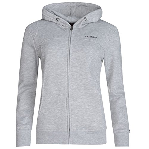 la-gear-womens-fz-hoody-ladies-long-sleeve-full-zip-casual-hoodie-sweat-top-grey-marl-16-xl