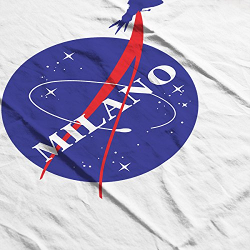 Guardians Of The Galaxy Milano Nasa Logo Men's T-Shirt White