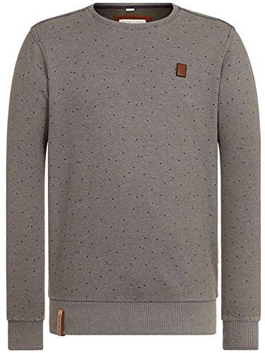 Naketano Male Sweatshirt Cevapcici Günther III heritage dark grey melang