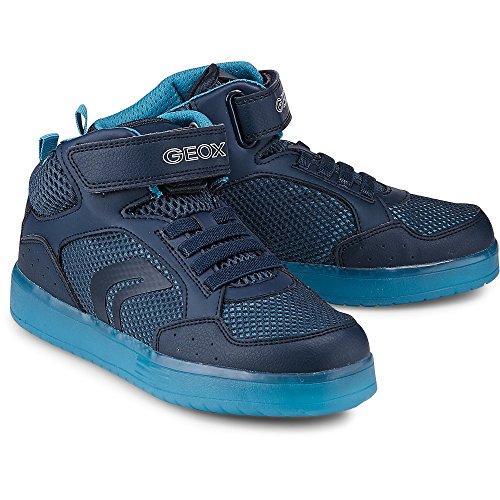 Geox Jungen J Kommodor Boy C Hohe Sneaker