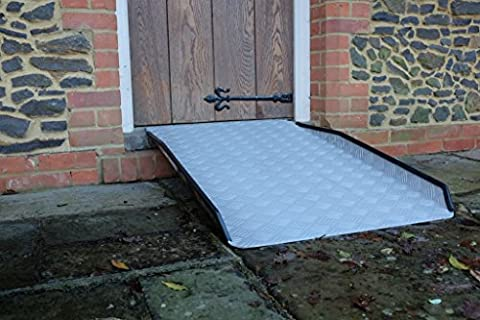 Adjustable Anti-Slip Fixed Heavy Duty Threshold Mobility, Scooter & Wheelchair Ramps