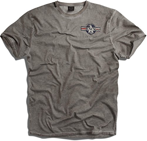 uncs-herren-t-shirt-s-6xl-bombardier-neue-kollektion-2016-grau-oil-m