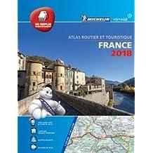 France 2018 - Tourist & Motoring Atlas Multi-flex: Tourist & Motoring Atlas A4 Multi-flex (Michelin Road Atlases)