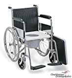 FC Premium Imported Commode Wheel Chair-...