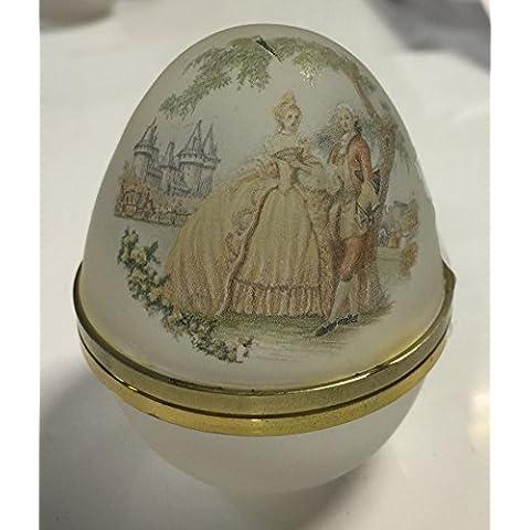 Joyero huevo cristal Romántico