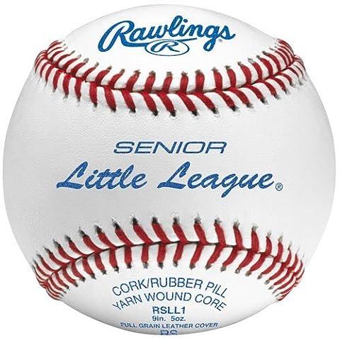 Rawlings Senior Little League Leather Baseballs 1 Dozen by