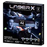 Laser X Micro Blasters Real-Life Laser Gaming Experience Equips 4 Players