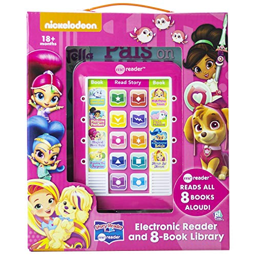 Nickelodeon - Story Reader Me Reader - Electronic Reader and 8 Book Library - PI Kids