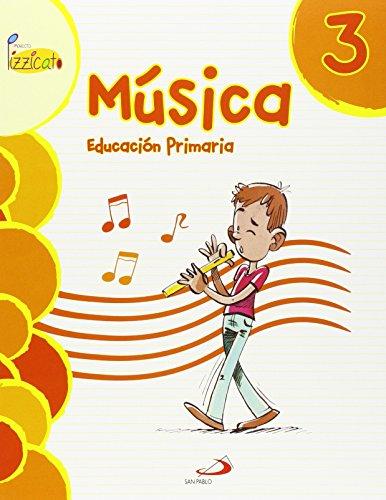 Música 3 - Proyecto Pizzicato - Libro del alumno: Educación Primaria - 9788428544313 por Vicente Gil Arráez