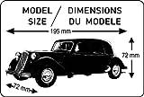 Heller - 50763 - Maquette - Citroën 15 CV