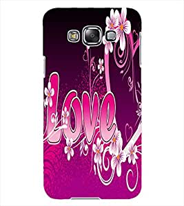 ColourCraft Love Quote Design Back Case Cover for SAMSUNG GALAXY GRAND MAX G720