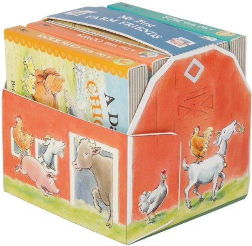 s [With Cardboard Play Barn, Stand-Up Animals] (Books in a Barn) ()