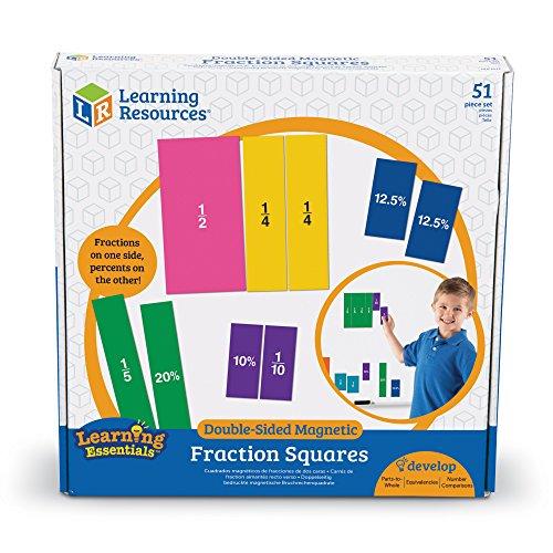 Carrs-de-fractions-aimants-recto-verso-de-Learning-Resources