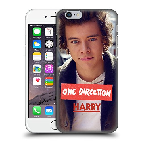 Head Case Designs Offizielle One Direction Jacke Foto Harry Styles Harte Rueckseiten Huelle kompatibel mit iPhone 6 / iPhone 6s -
