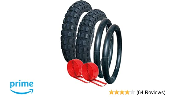 Quinny Buzz Heavy Duty Chunky Tyre and Tube Set  with Double Puncture Protection